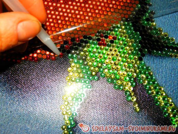 Вышивка алмазными стразами инструкция 182